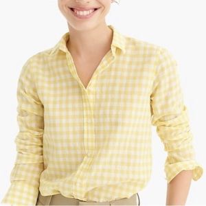 J. Crew The Favorite Shirt Cotton Long Sleeve Top